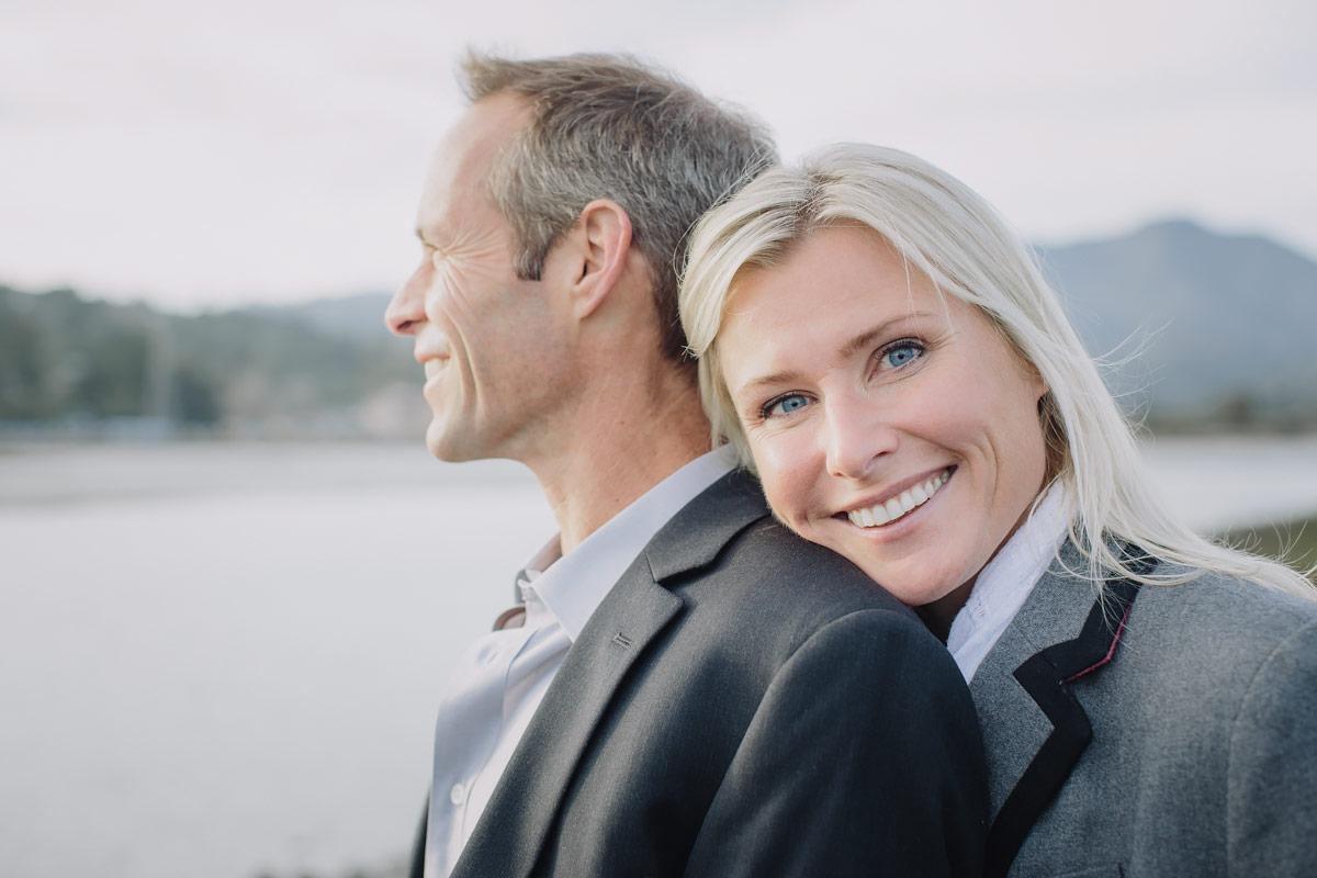 Marin portrait couple love