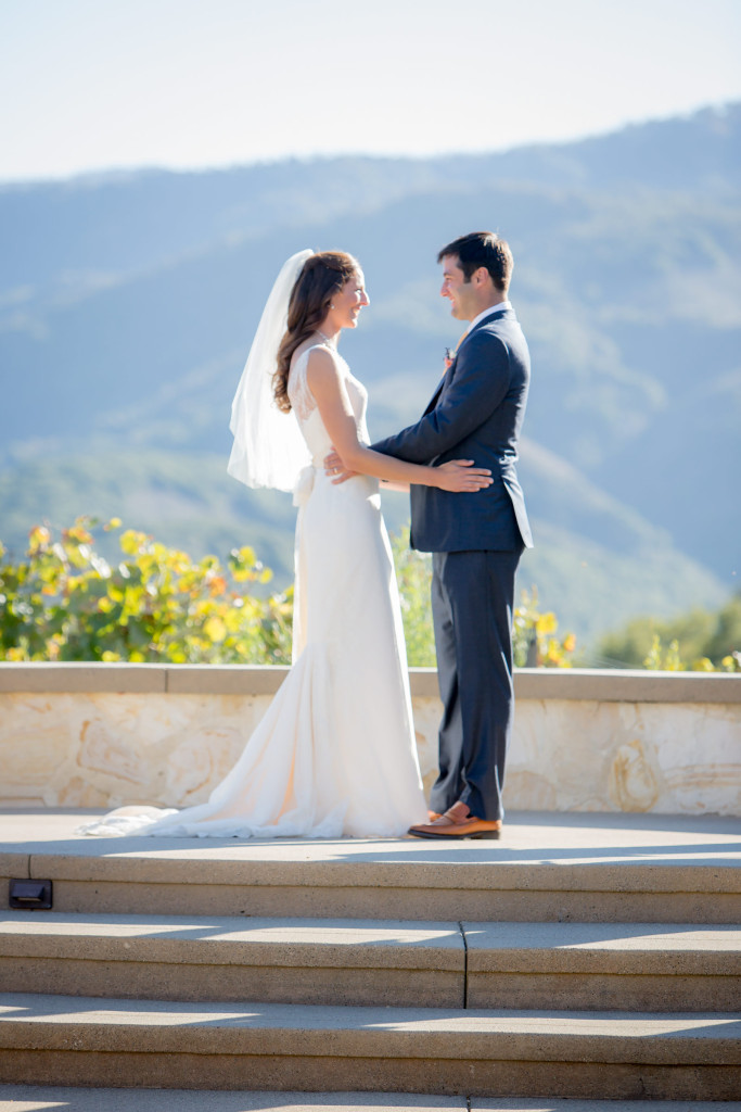 Napa wedding photo